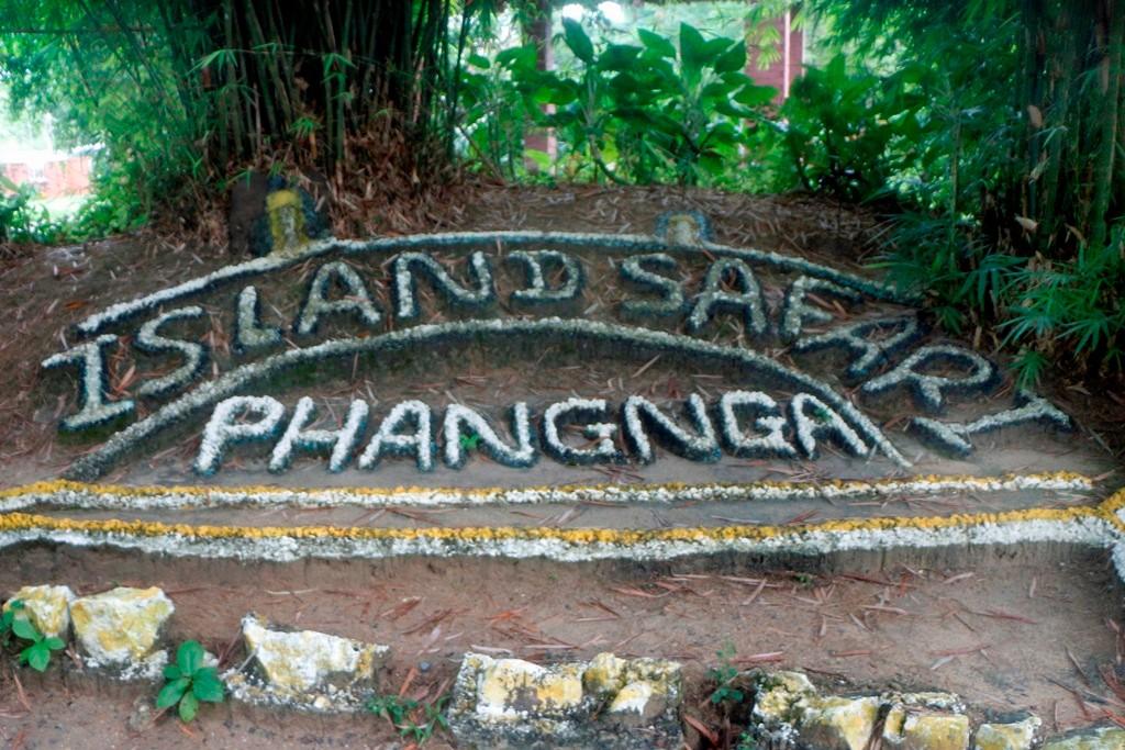 Man sieht es, wir sind in Safari Island in der Provinz Phangnga!