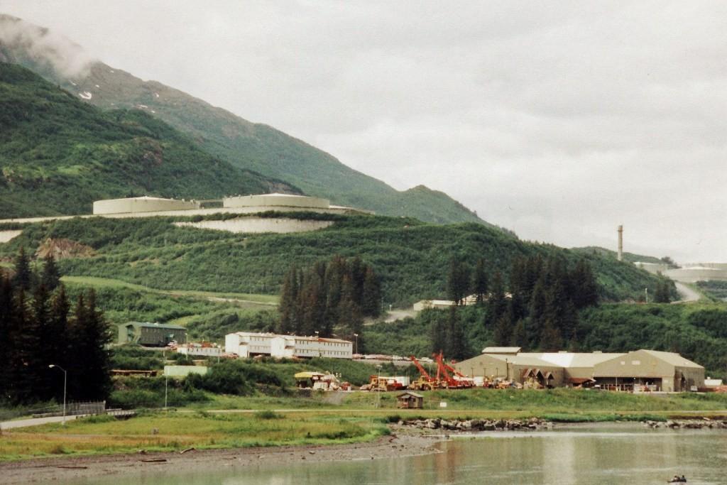 Der eisfreie Ölhafen von Valdez