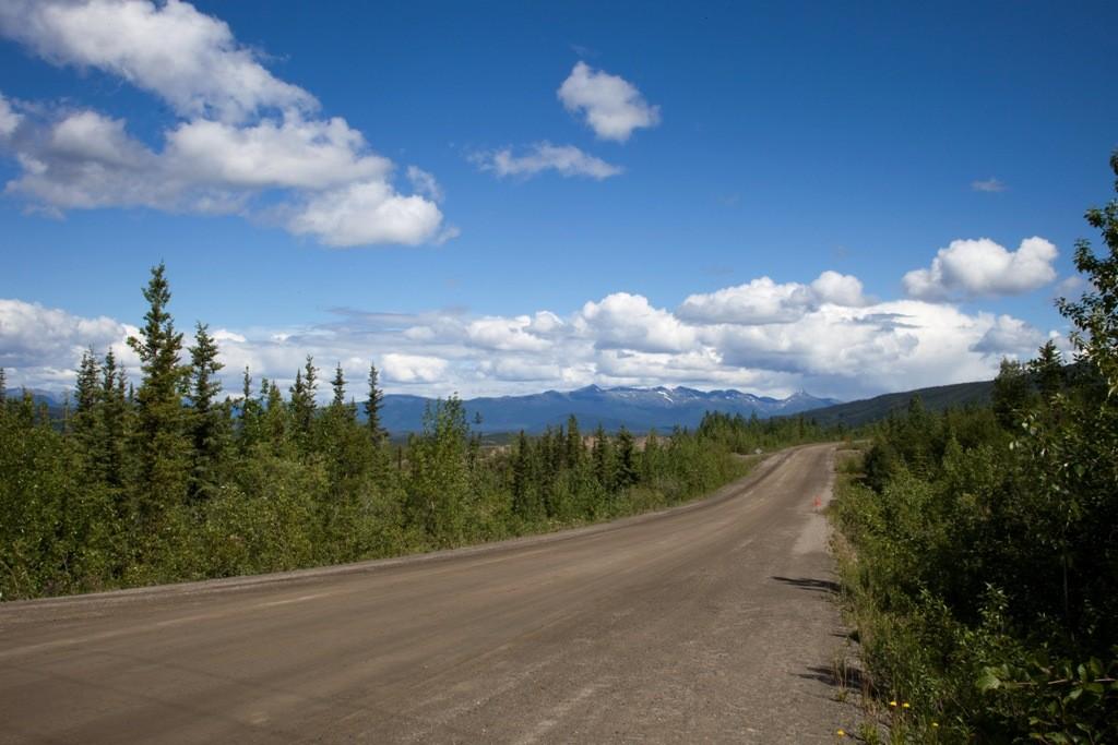 Der Silver Trail weiter in Richtung Keno Hills
