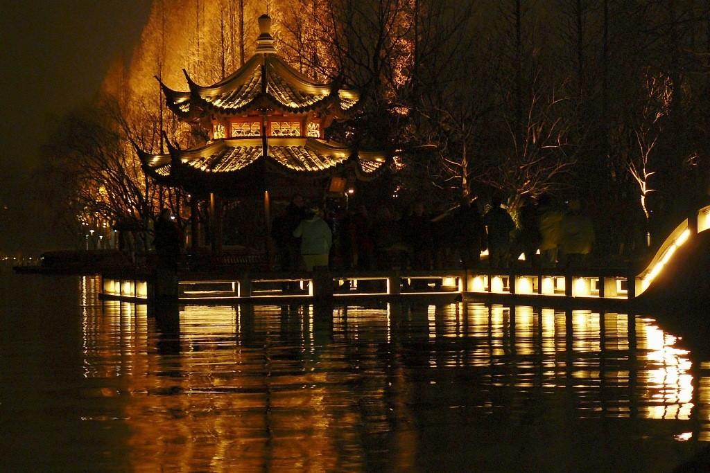 Die Liebesbrücke von Hangzhou