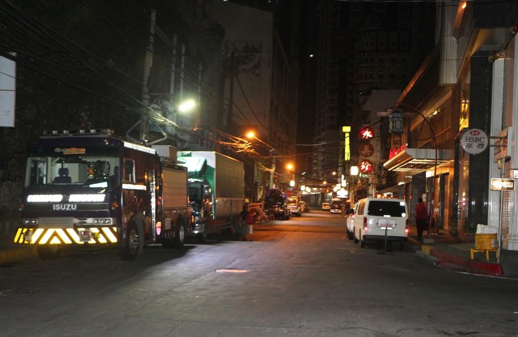 Im Ortsteil Chinatown, nach Mitternacht ist auch hier nicht viel los