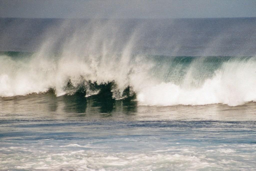 Grandioser Wellengang, ein Eldorado für Surfer
