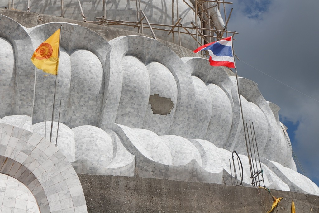 Endprodukt an der Buddhastatue zu sehen!