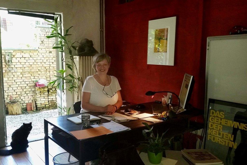 Büro und Arbeitsplatz von Angelika Kessler
