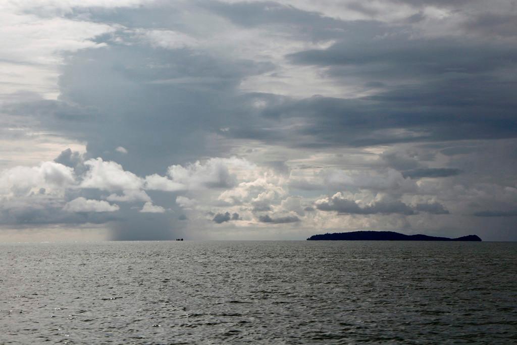 Wir erreichen die offene See und gleich haben wir kleine Inselchen im Visier!