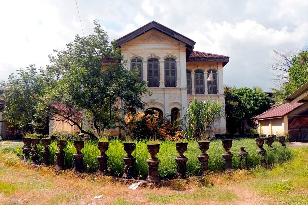 Eindeutig erkennbar, die portugiesische Architektur aus der Kolonialzeit von Phuket Town