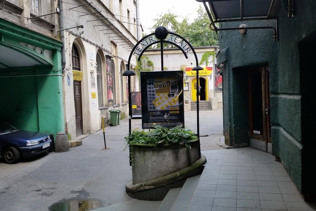 Kleinkunsttheater im Hinterhof auf der Schweidnitzer Straße