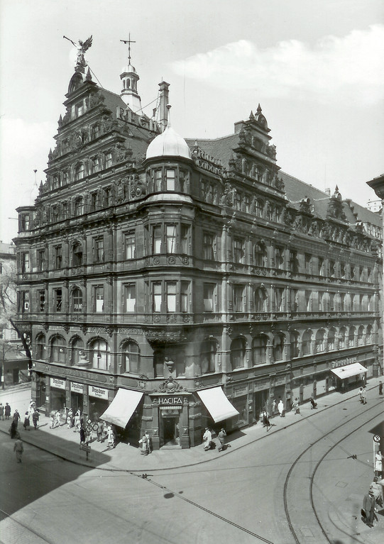 Dresden - Viktoriahaus, Prager Str.