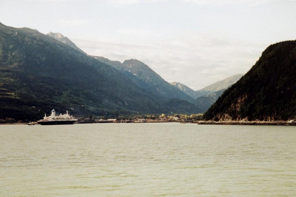 ...im Chilcoat Inlet kurz vor Skagway