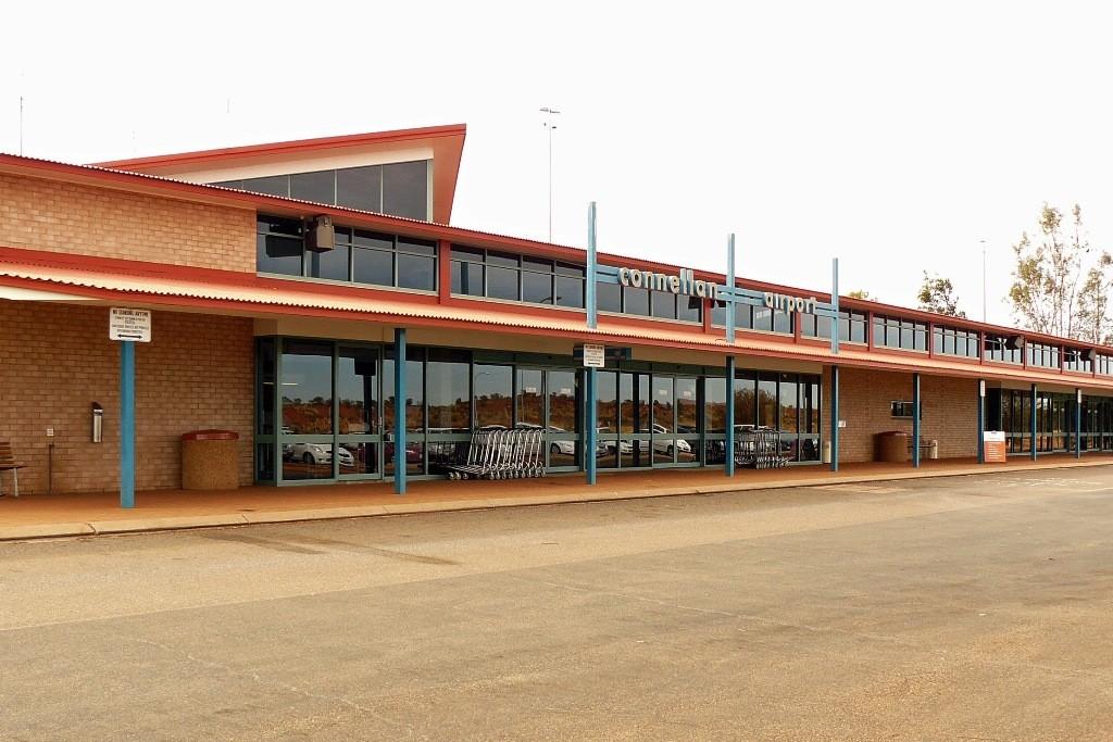 Connellan Airport nahe Yulara