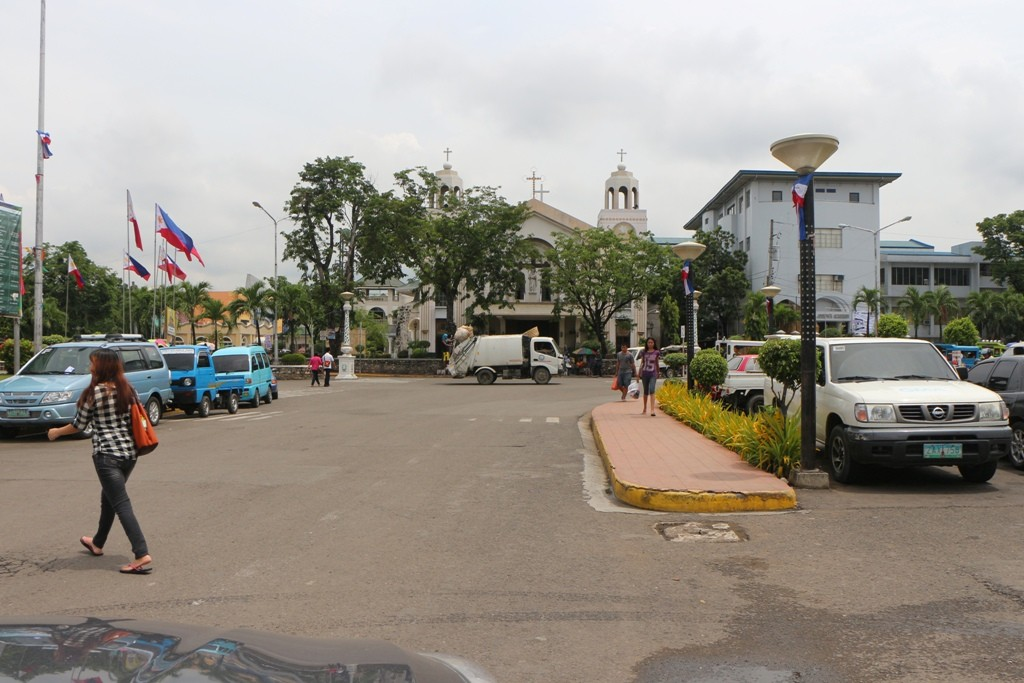 Platz vor der Saint Joseph Parish, Mandaue City