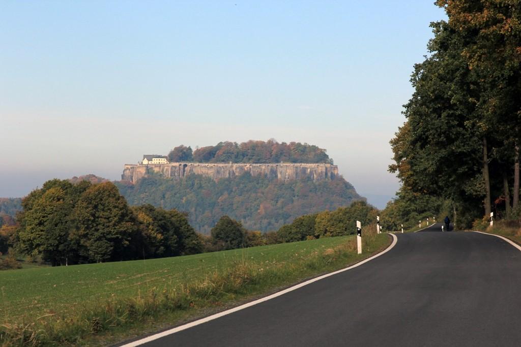 Die mittelalterliche Festung Königstein