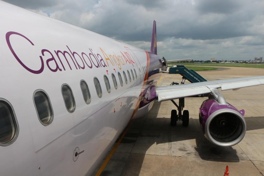 ...ein letzter Blick auf das Rollfeld vom International Air Port Ho Chi Min City!