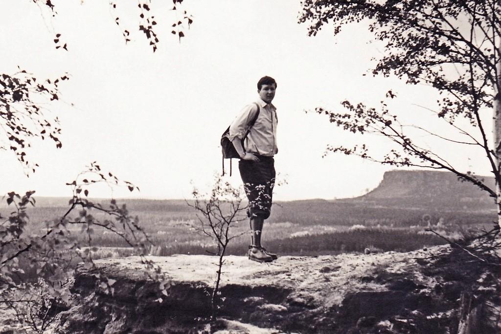 Beim Großen Zschirnstein 1969