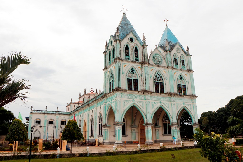 Die St. Vincent Ferrer Parish Church in Calape.