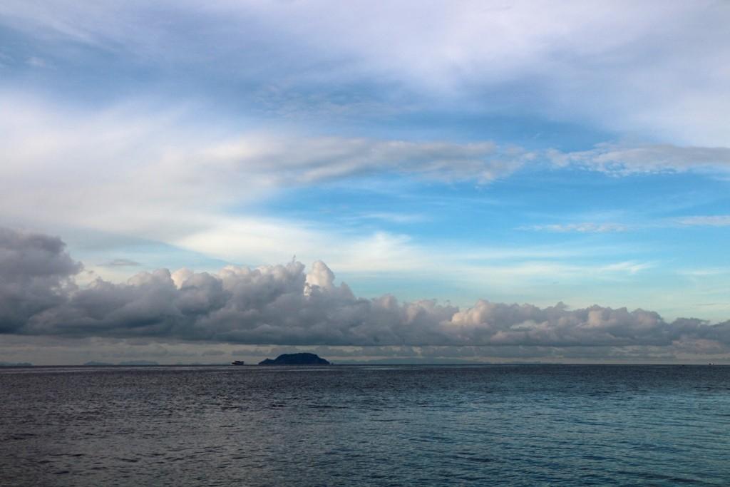 ...die Boholsee (Dagat Bohol) mit Apo Island im Hintergrund