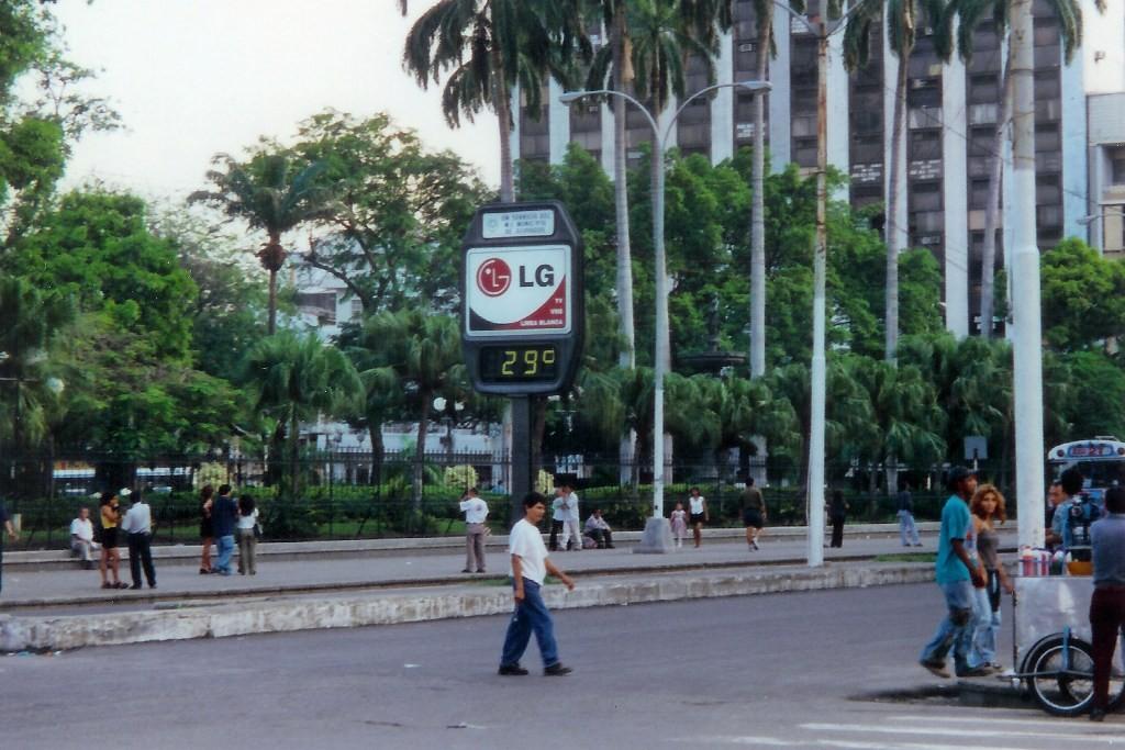 ...kaum zu ertragen, Guayaquil bei 29°C