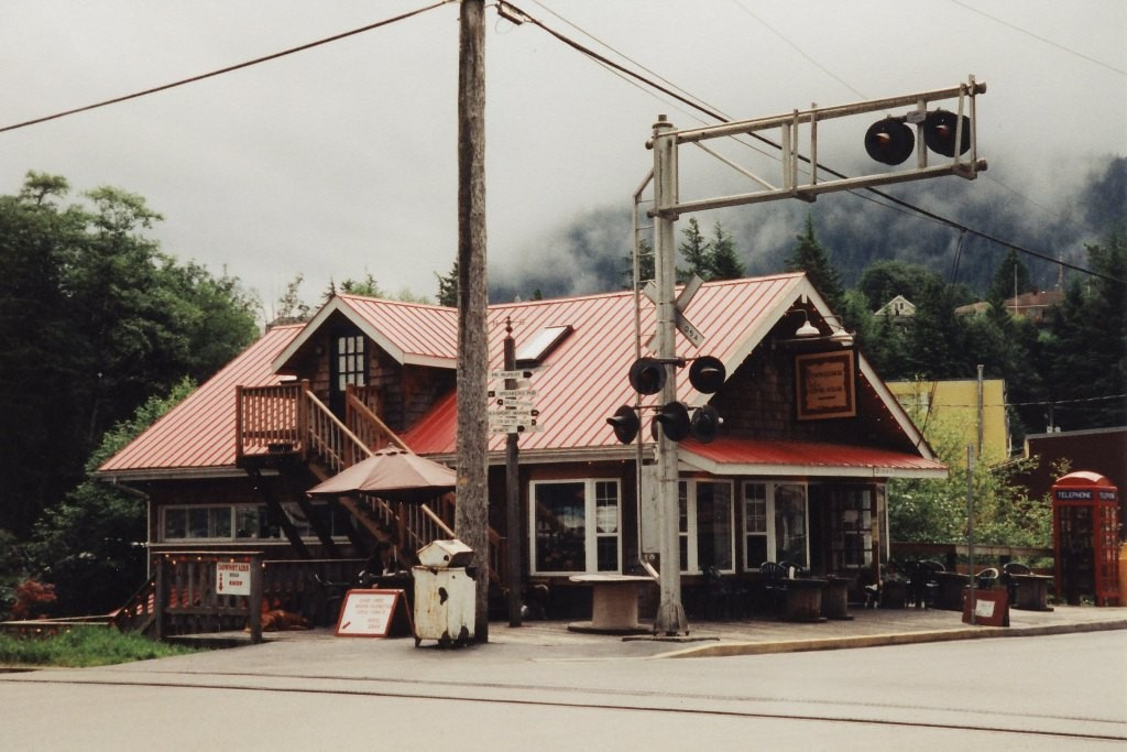Coffee House an der Cow Bay in Prince Rupert