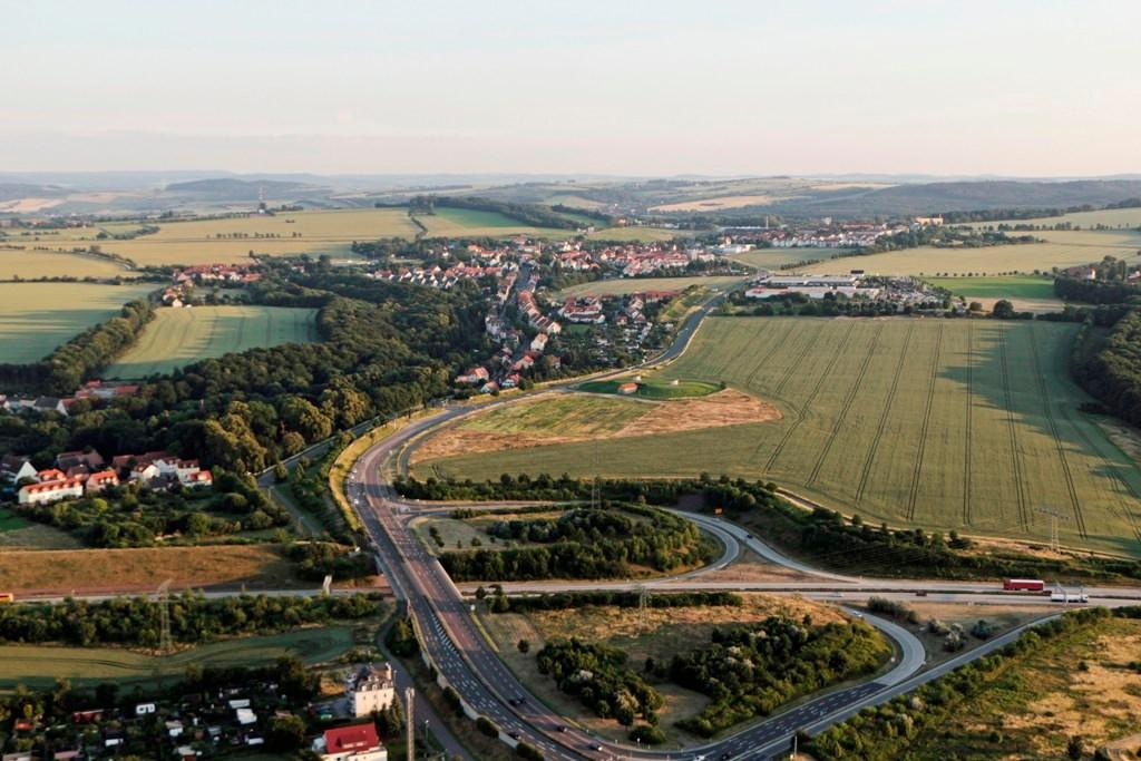 BAB 17 Abfahrt Südvorstadt/Bannewitz und weiter ins Osterzgebirge nach Dippoldiswalde