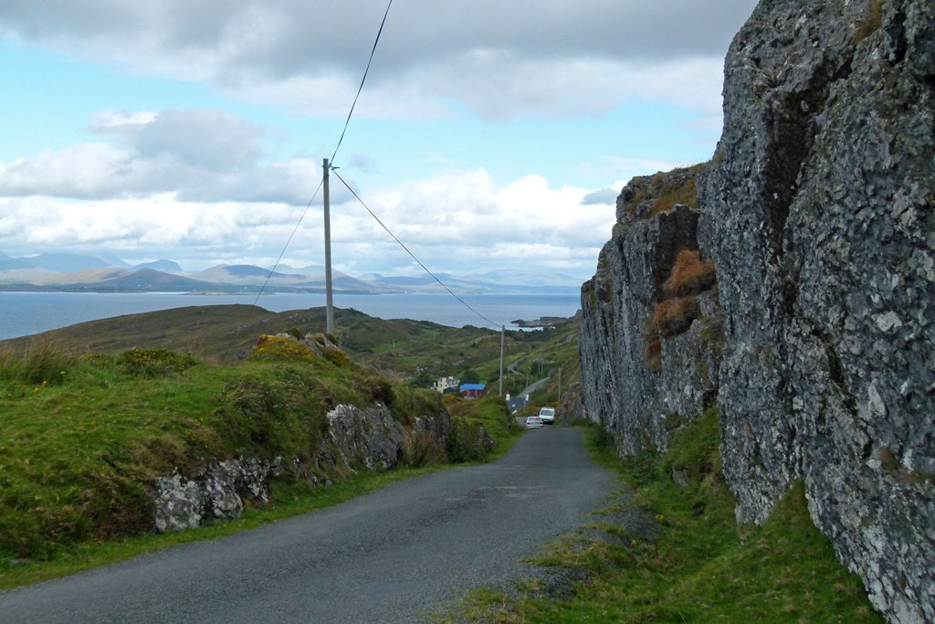 Die engen Straßen am Ring of Beara