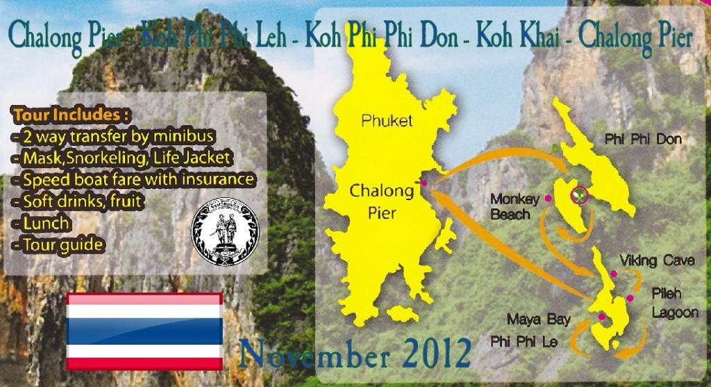 Willkommen zum Tagestrip mit dem Speedboot zu den Phi Phi Islands und nach Khai Island!