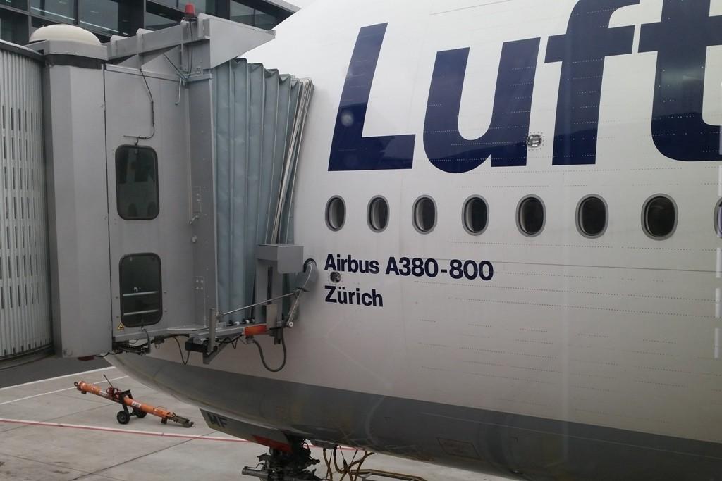 Mein Flieger nach Miami, ich war überrascht, zum zweiten mal in einem A380-800, schön!