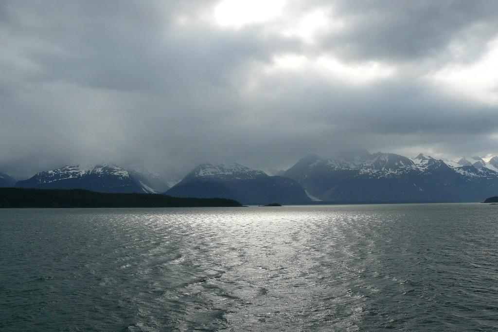 Wir passieren den Glacier Bay National Park, ein beeindruckender Anblick