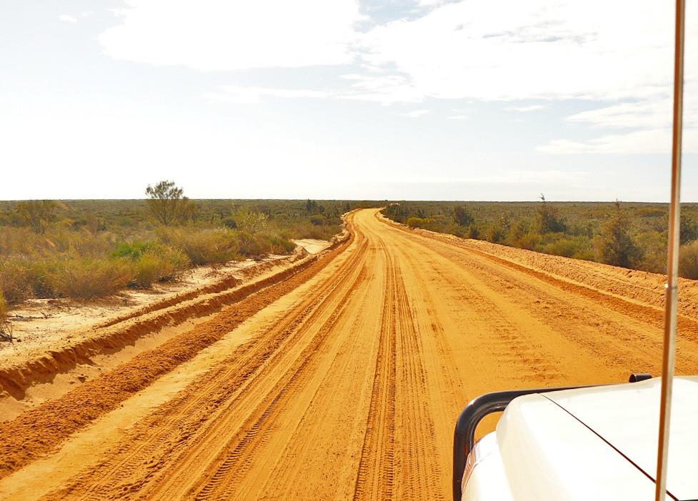 Weiter an der Westküste nach Norden auf dem Brand HWY nach Geraldton und weiter in den Kalbarri NP