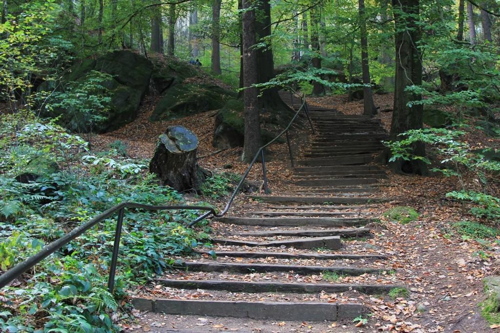 Aufstieg zum Pfaffenstein