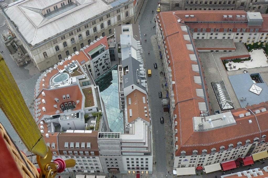 Verkehrsmuseum, Komplex Hiltonhotel und OF Quartier an der Frauenkirche