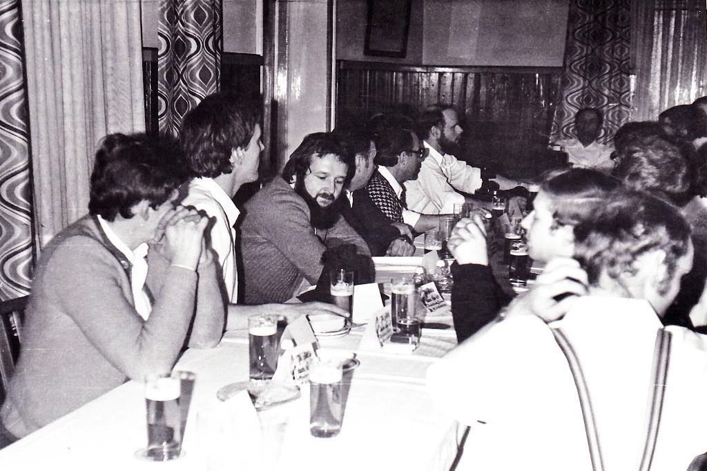 Beim Stiftungsfest 1986