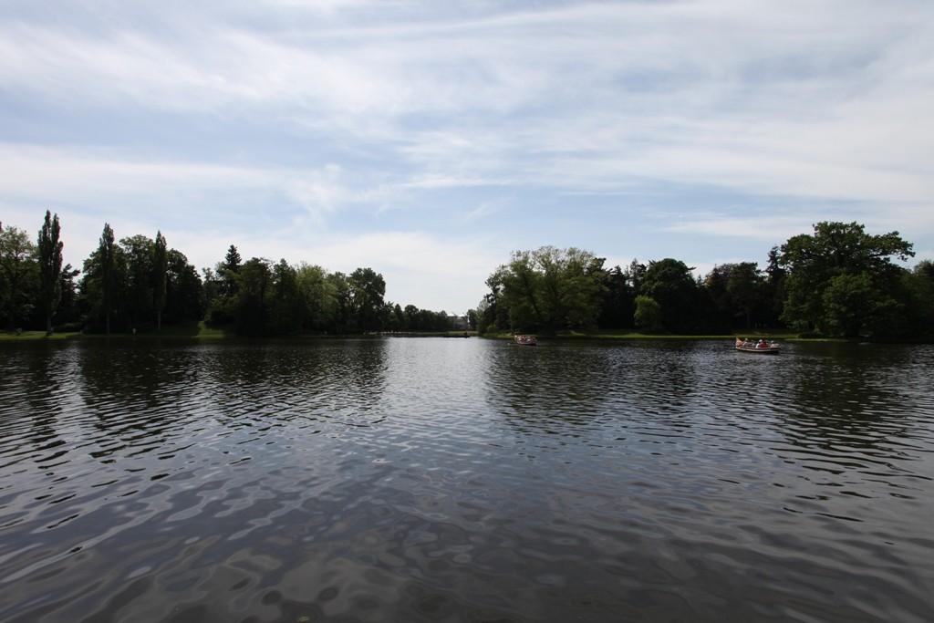 Gondelbetrieb auf den Wörlitzer Gewässern