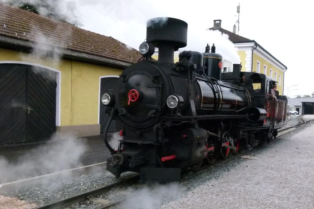 Die herrlichen Dampflokomotiven sind schon eine Augenweide, vor allem für die Eisenbahn Freaks!