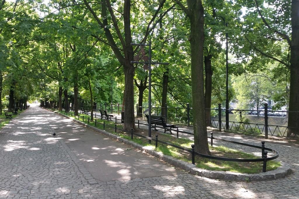 Detailansicht des Jasinski Boulevard