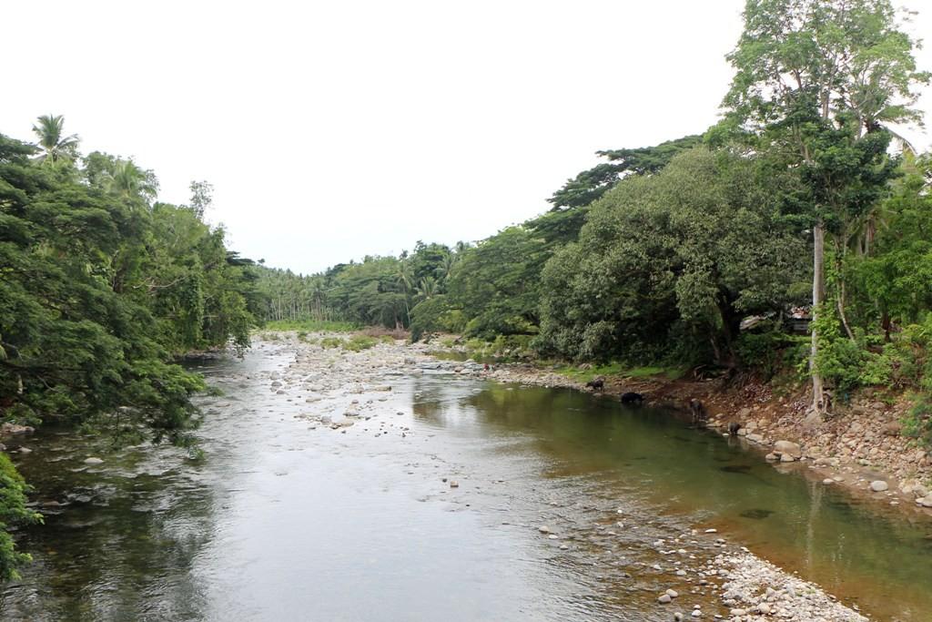 Blick von der Balayong Bridge auf gleichnamigen Fluss