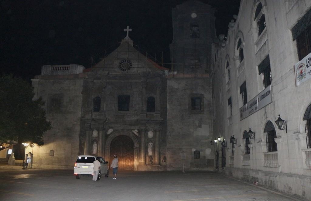 Die älteste Kirchgründung uuf den Philippinen, die San-Agustin Kirche in Manila die 1571 errichtet wurde