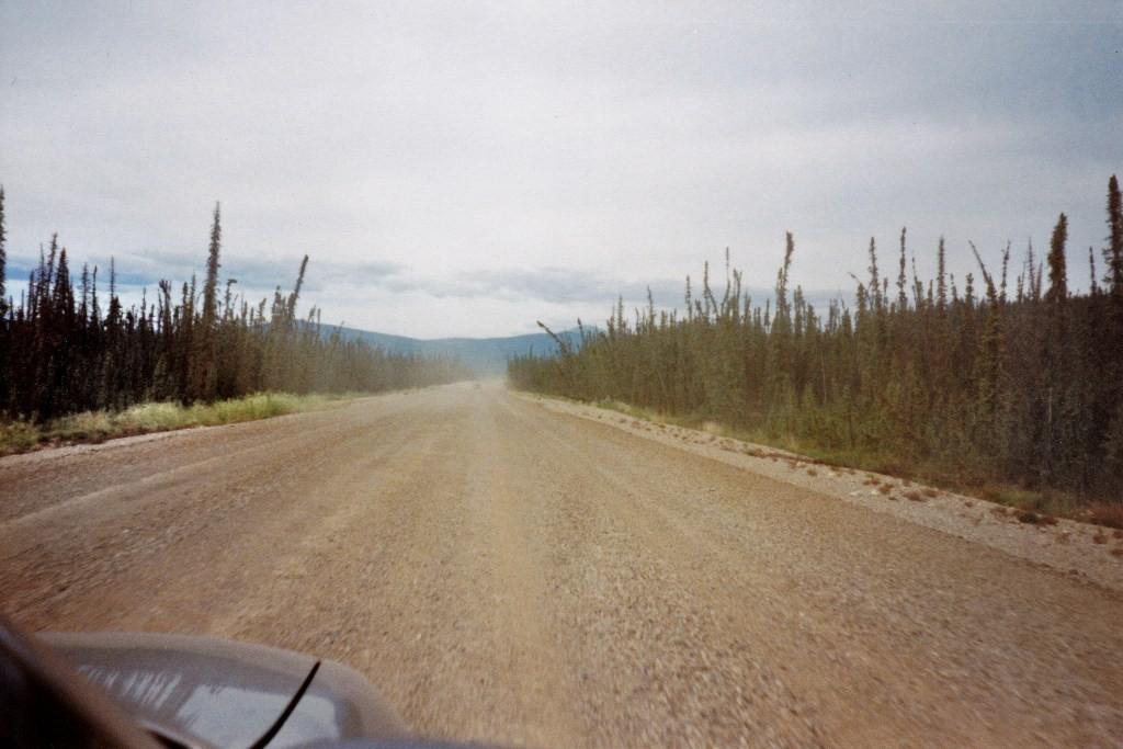 ...auf dem Klondike Hwy Richtung Dawson