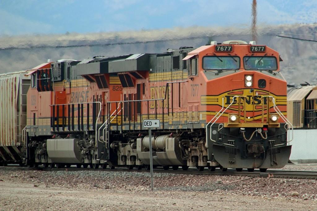 BNSF-Railway Diesellok´s bei der Arbeit