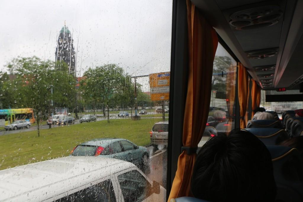 Am Montag den 03.06. goss es erneut in Dresden aus Eimern und die Unwetterwarnungen trübten unsere Reiselust.