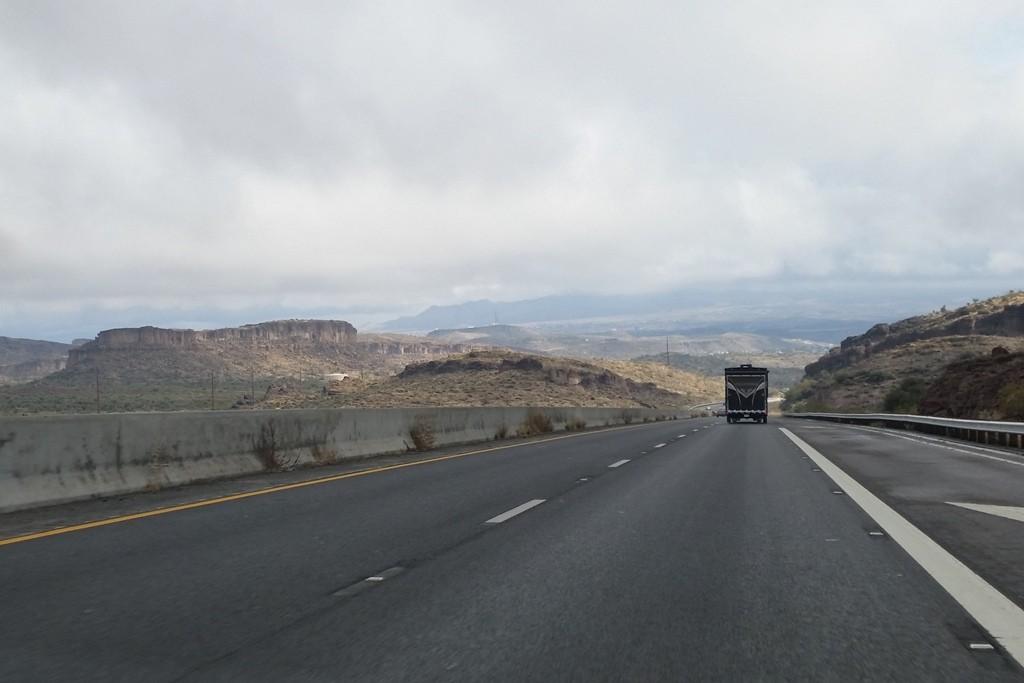 US 93 nach Süden