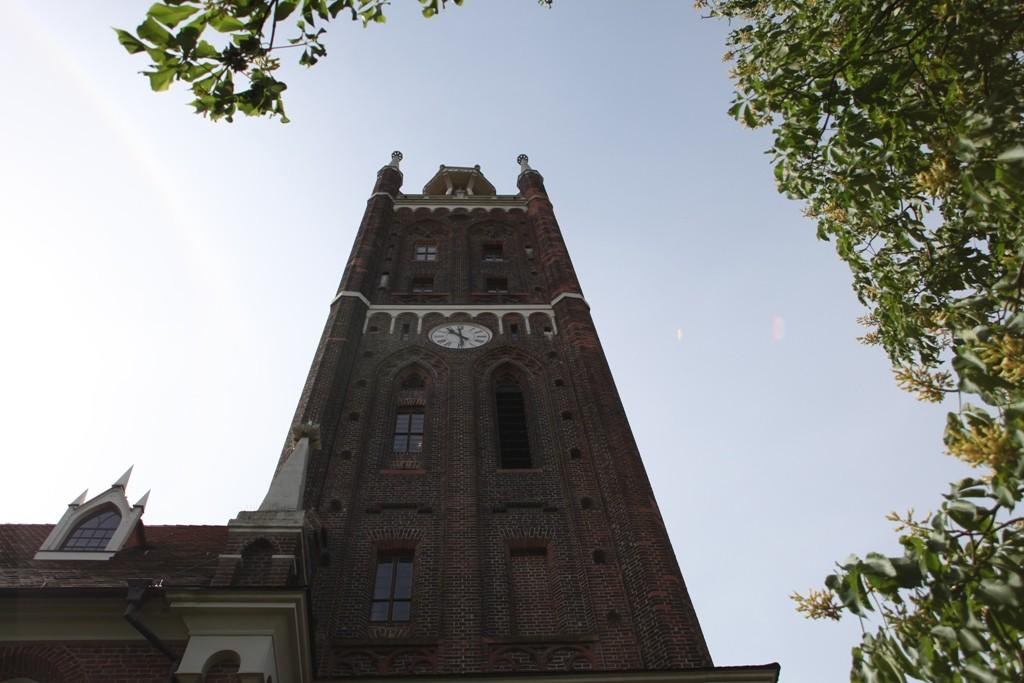 St. Petri Kirche, Detail des Bibelturmes