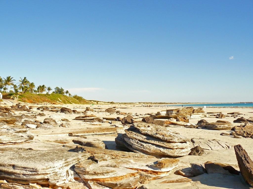 Die Fahrt ging weiter und wir waren bald in Broome am Cable Beach, unserem nächste Ziel angekommen