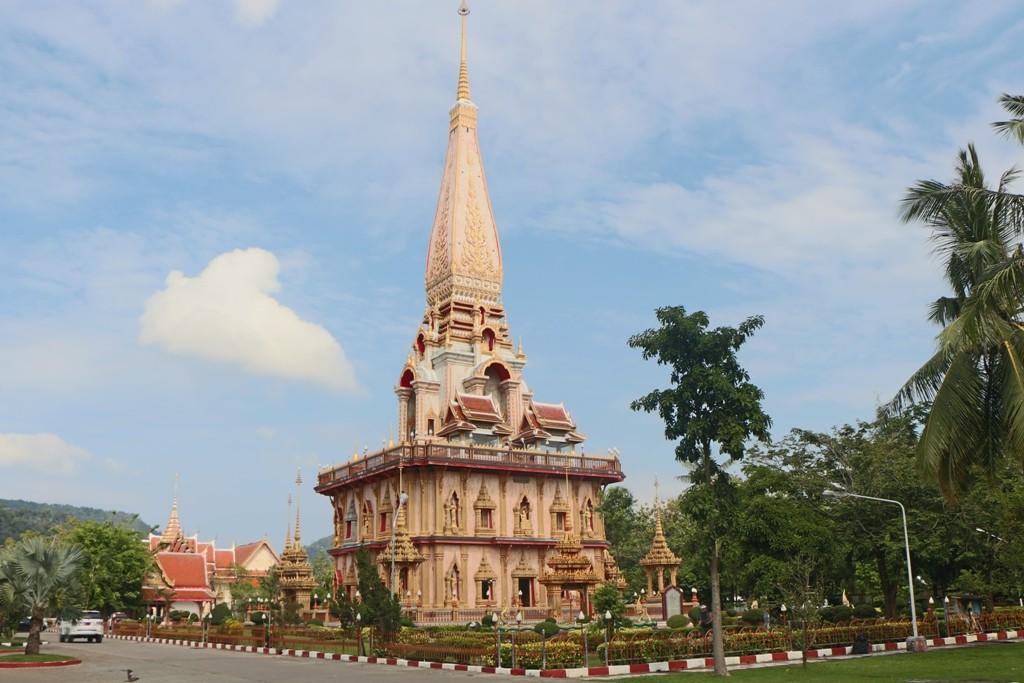 Der Phra Prang im Wat Chalong