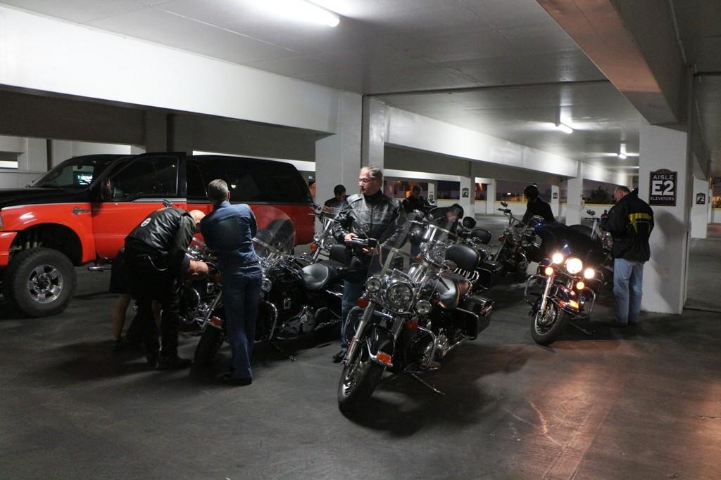 Das erste Mal im Garagenkomplex vom Orleans Hotel!