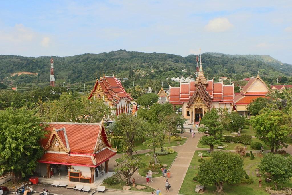 Komplexe Ansicht des Wat Chalong