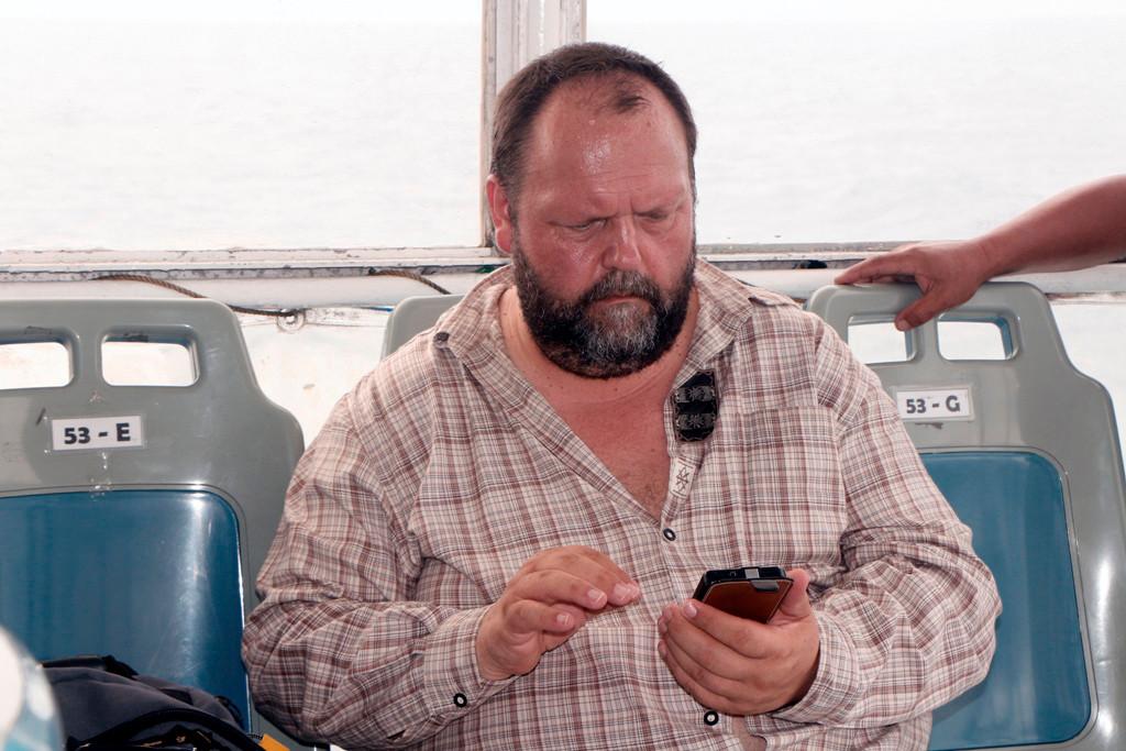 Doch Udo hat ja sein Handy mit dabei, dem zufolge sind es wir nur körperlich, virtuell klappt das vorzüglich wie man sieht!