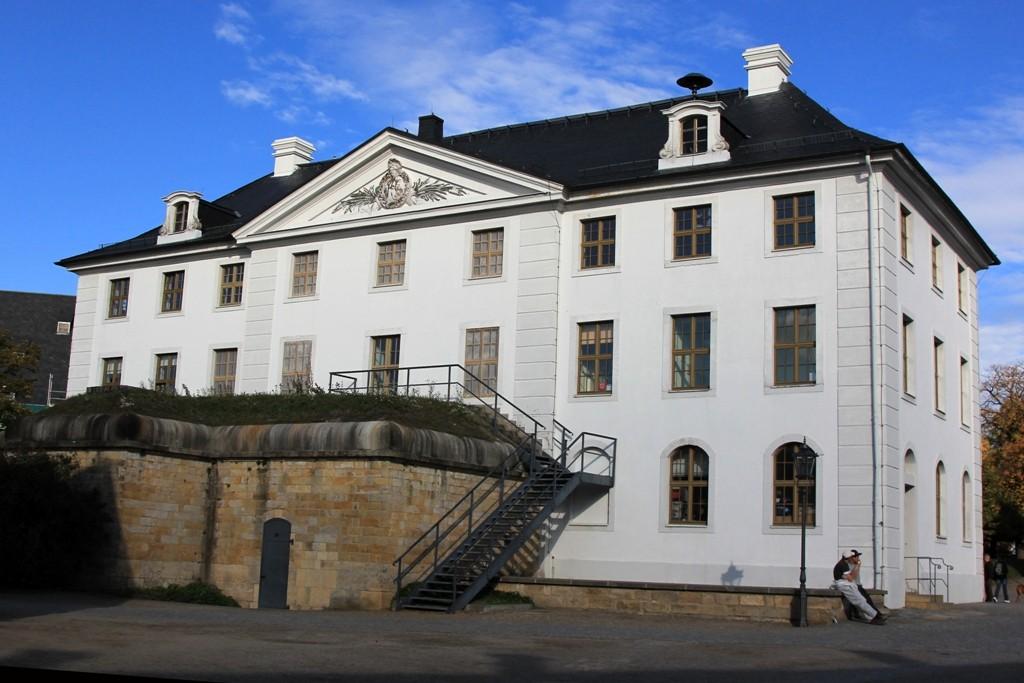 Das Brunnenhaus auf der Festung