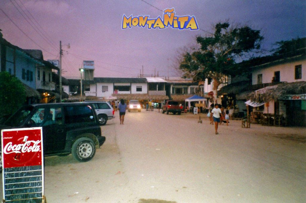 ...romantisch, stimmungsgeladen und exotisch, abends in Montanita