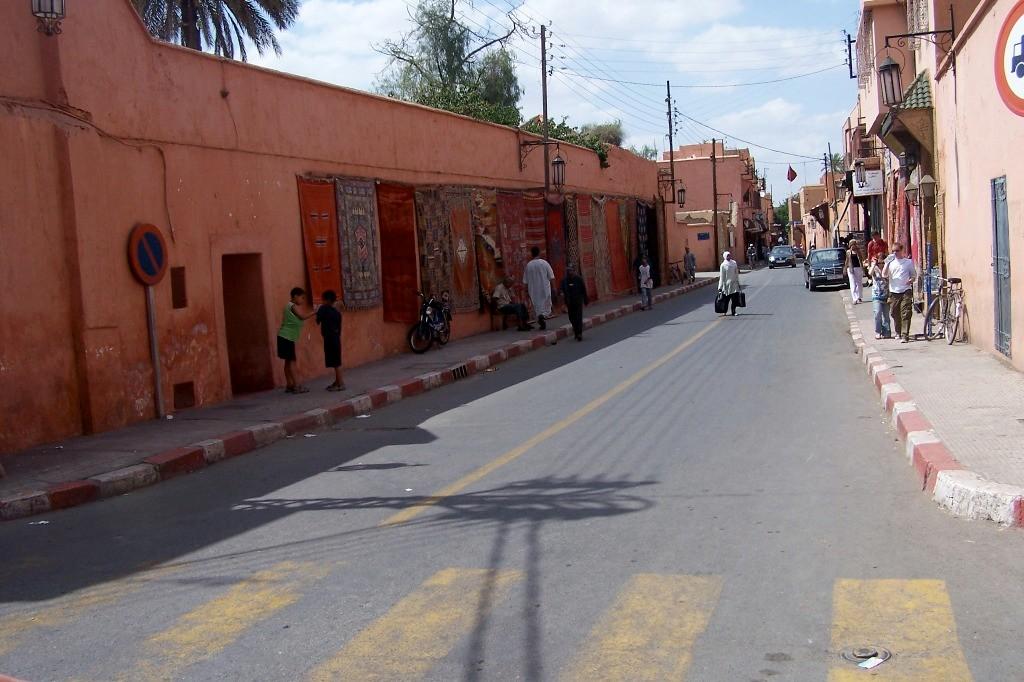 ...Straßenleben in Marrakech