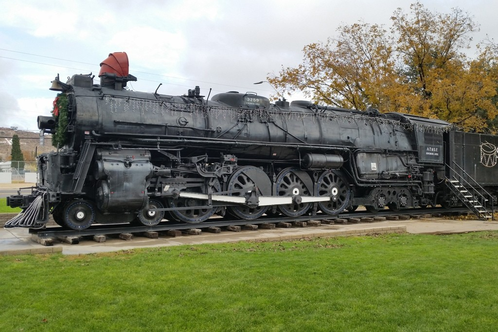 Locomotiv Park in Kingman